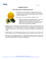 Vol12 – #1 Provide Safe On The Job Training