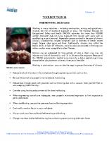 Vol12 – #4 Preventing Silicosis