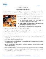 Vol12 – #11 Woodworking Safety