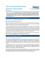 Labor & Legal March, 2017