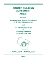 Operating Engineers Local 139 Area I Master Building Agreement, 2016 – 2021