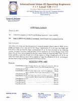 Operating engineers Local 139, Area I Master Building Agt. – 2019 Wage Allocations