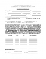 SATAP REIMBURSEMENT FORM