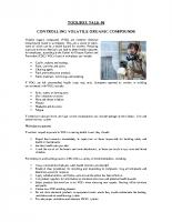 TBT-06 CONTROLLING VOC