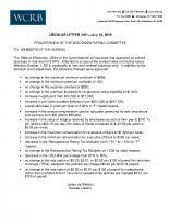 WCRB CIRCULAR 3197 Rate Revision