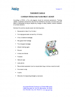TBT-02 Common Items for your First Aid kit