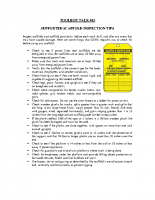 TBT-43 SUPPORTED SCAFFOLD INSPECTION TIPS
