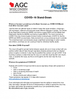 AGC COVID-19 Stand-Down Outline