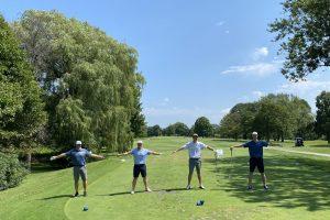 Social Distance Golfing