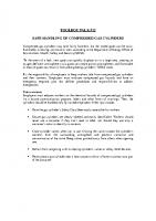 TBT-12 SAFE HANDLING OF COMPRESSED GAS CYLINDERS