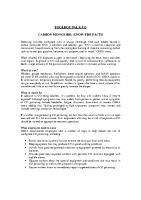 TBT-13 CARBON MONOXIDE – KNOW THE FACTS