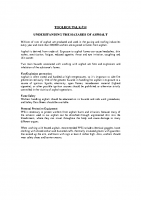 TBT-14 UNDERSTANDING THE HAZARDS OF ASPHALT