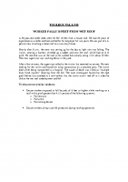 TBT-40 WORKER FALLS 18 FEET FROM WET ROOF