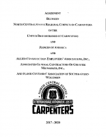 Commerical Carpenters Floorcoverers BW 2017 – 2020