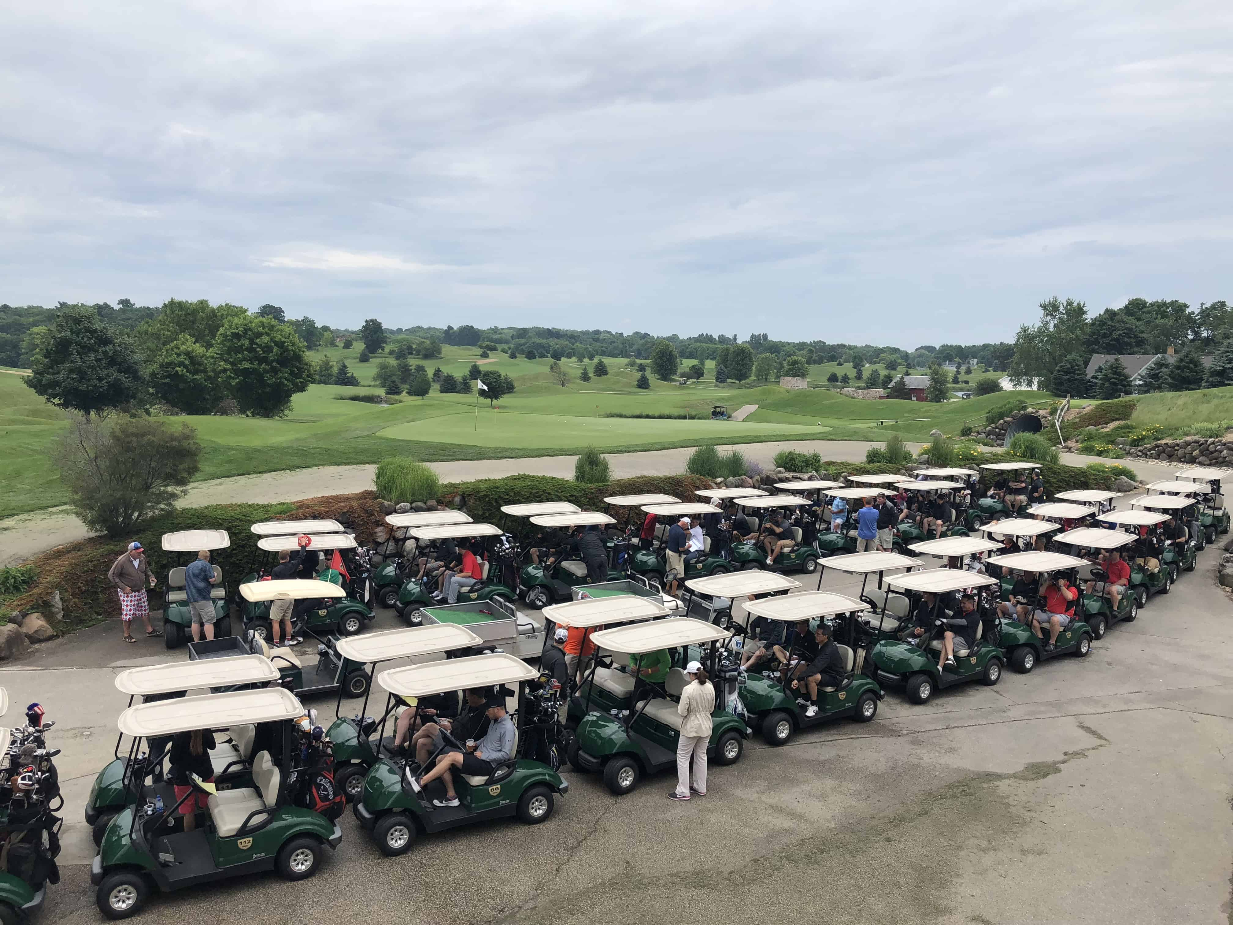 CLC Golf Outing Carts