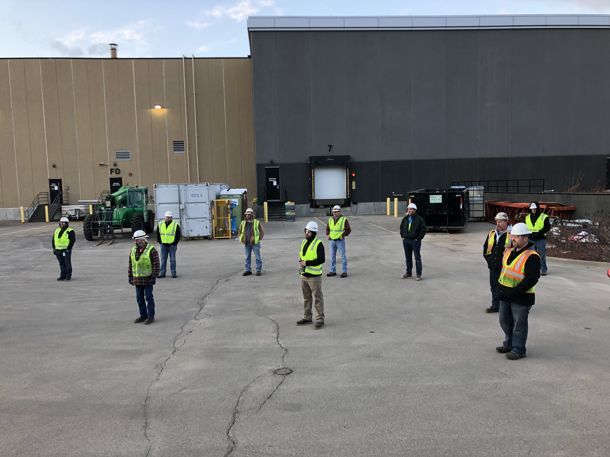 Hundreds Of Construction Firms Across The Country Hold Coronavirus Safety Stand Downs To Protect Workers And The Public