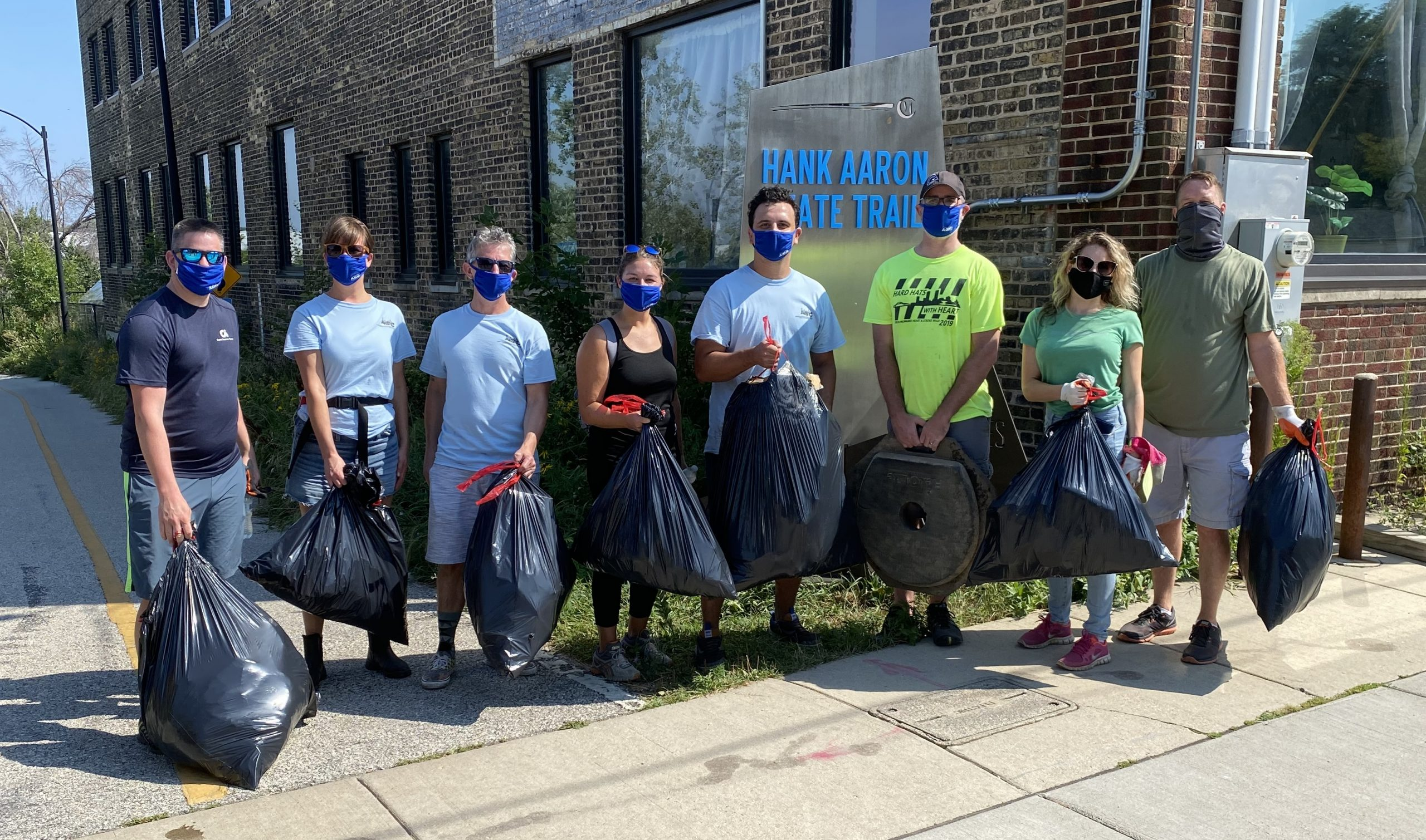 CLC River Clean-up Reconnects Steering Committee